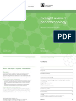Foresight Review of Nanotechnology