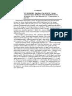 Uji Repelensi Serbuk Daun Tembelekan Lantana Camara Terhadap Hama Penggerek Umbi Kentang Phthorimaea Operculella (Abstract)