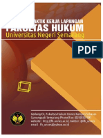 Pedoman Praktik Kerja Lapangan Fakultas Hukum Unnes 2012