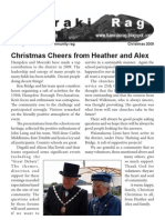 Hamraki Rag Christmas 2009 issue