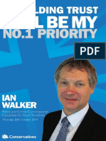 Ian Walker - Manifesto