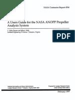 NASA ANOP Propellers