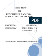 case study on narayan murthy Case study on narayan murthy & infosys - free download as word doc (doc /  docx), pdf file (pdf), text file (txt) or read online for free.