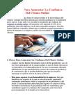 6 Claves Para Aumentar La Confianza Del Cliente Online