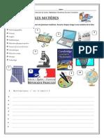 7 Les matières scolaires.pdf