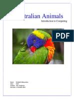 abhayaratna elisabeth australian animals do it now