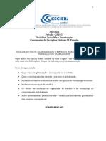 2010-1 AD1 Sociedade e Organizacoes