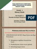 Masalah Strategis Manajemen Tenik