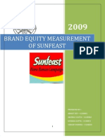 Brand Equity Sun Feast