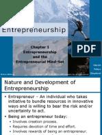 Entrepreneurship & the Entrepreneurial Mindset