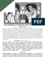XIX DOMINGO DESPUÉS DE PENTECOSTÉS. pdf bilingue