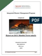 Integrated Disaster Management Program _sneha