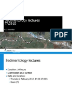 TA2910 01 - Introduction to Sedimentology