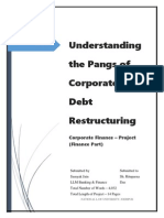 Understanding The Pangs of Corporate Debt Restructuring