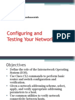 ready- configuring and testing your network