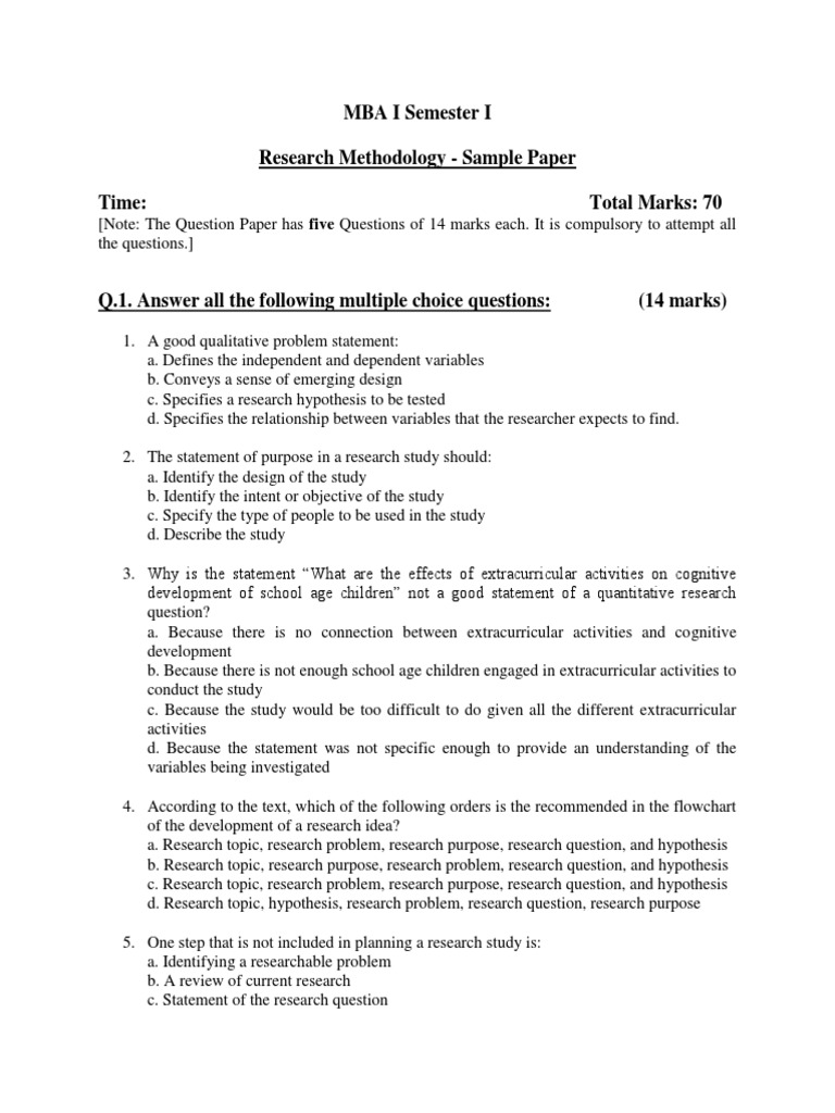 what is the main purpose of a research paper