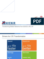 Drivers for LTE Transformation