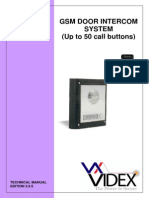 Gsm Door Intercom System