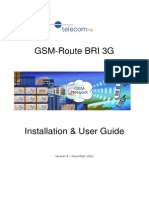 GSM-Route BRI 3G User Manual v4