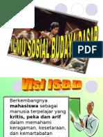 Konsep Ilmu Sosial Dan Budaya Dasar