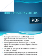 Three Phase Inverters