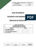 HOS-PED-GU-21 GUIA DE MANEJO PACIENTE CON QUEMADURAS.pdf