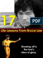 17 Life Lessons From Bruce Lee-presentation by Sompong Yusoontorn
