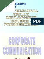 communication skills....