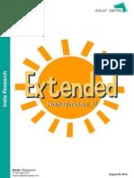 Dolat Preferred Picks August-2014