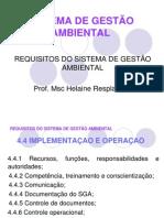 Implementaçao e Operaçao do SGA.ppt