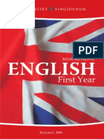 US - Engleski Jezik I