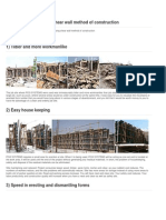 Comparison Shear Wall and Brick Wall