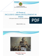 An Overview of Inclusive Urban Development in India