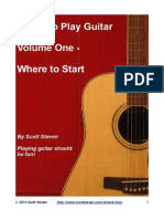 Learn to Play Guitar - Volume 1