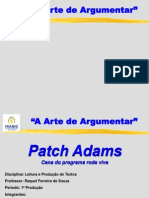 A arte de Argumentar - Patch Adams 1.ppt