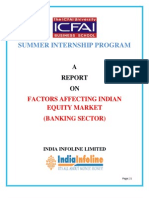 a Report on Banking Sector Analysis Factors Affecting Indian Banking Sector