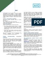 AIG DTC Pojistne Podminky Jednorazove Rocni Opakovane Tcm878-478361