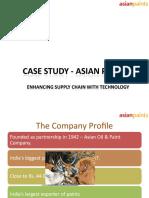 Case Study - Asian Paints