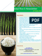 16th October,2014 Daily Global Rice E-Newsletter by Riceplus Magazine