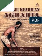 Menuju Keadilan Agraria. 70 Tahun Gunawan Wiradi