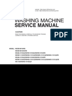 ServiceManuals LG Washing WD1015FB WD-1015FB Service Manual