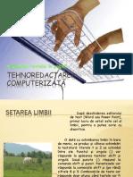 Tehnoredactare Computerizata Si Aranjarea Textului in p