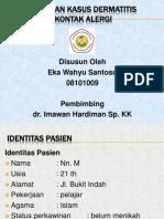 Laporan kasus dermatitis k. alergi.pptx