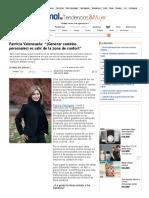 """Patricia Valenzuela_ """"(Generar cambios personales) es salir de la zona de confort"""" _ T&M en Emol.pdf"""