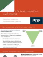 Patrizio Tonelli - Subcontrato y externalizacion en Chile