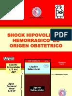 shock hipovolémico - manejo.ppt