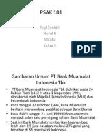 PSAK 101 studi pada PT Bank Muamalat Indonesia,Tbk.pptx