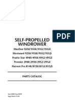 Self Propelled Windrower - Parts Catalog