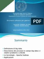 Strumenti Software Per Gestire i Big Data