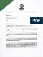 Carta del procurador Ordóñez al presidente Santos.pdf